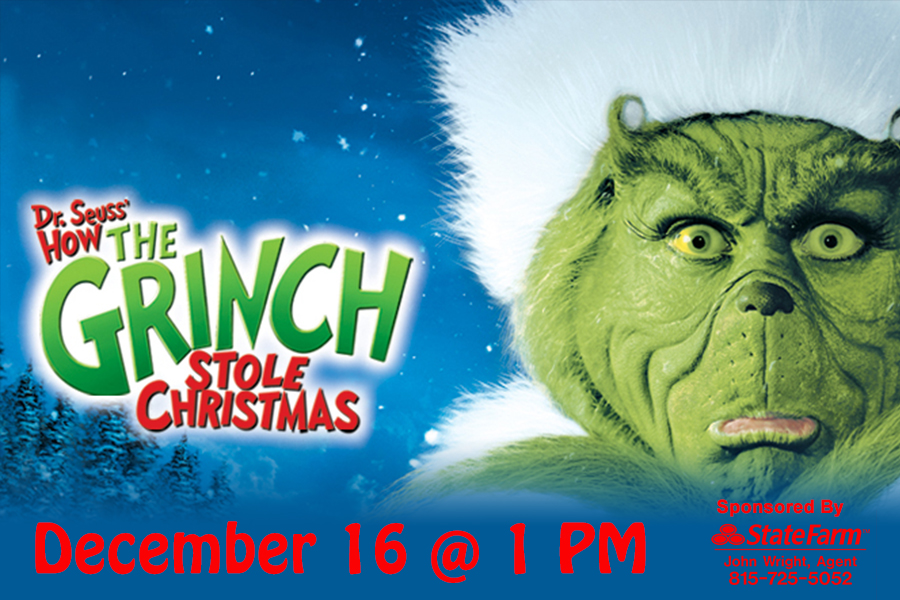 MOVIES AT THE RIALTO – DR. SEUSS' HOW THE GRINCH STOLE CHRISTMAS ...
