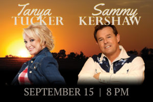 WCCQ Presents: Tanya Tucker and Sammy Kershaw