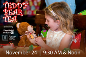 TEDDY BEAR TEA RETURNS AS PART OF HOME FOR THE HOLIDAYS