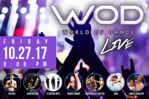 Just Added: WORLD OF DANCE LIVE! TOUR