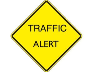 TRAFFIC ALERT WEDNESDAY, OCTOBER 25th – SATURDAY, NOVEMBER 4th