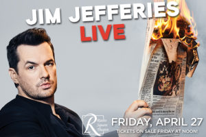 JIM JEFFRIES LIVE AT THE RIALTO