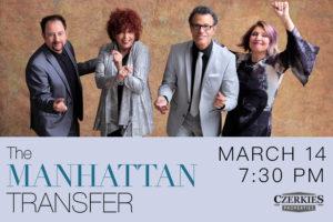 THE MANHATTAN TRANSFER COMES TO RIALTO SQUARE THEATRE ON MARCH 14