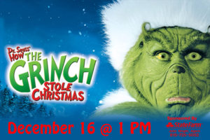 HOME FOR THE HOLIDAYS MOVIE – DR. SEUSS' HOW THE GRINCH STOLE CHRISTMAS
