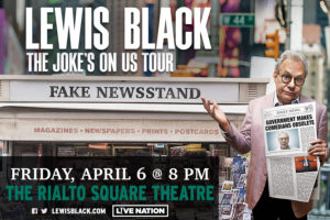 LEWIS BLACK – THE JOKE'S ON US TOUR