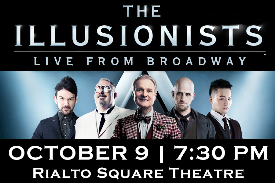 THE ILLUSIONISTS BRING THEIR JAW-DROPPING MAGIC TO THE RIALTO SQUARE THIS FALL