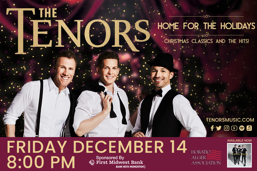 The Tenors - Joliet's Rialto Square Theatre