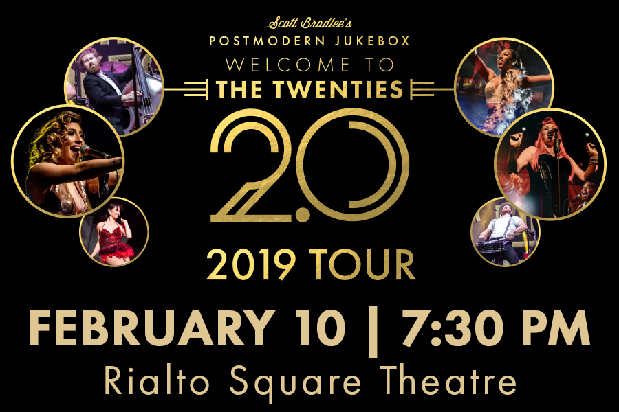 VIRAL SENSATIONS POSTMODERN JUKEBOX WILL PLAY RIALTO IN FEBRUARY 2019
