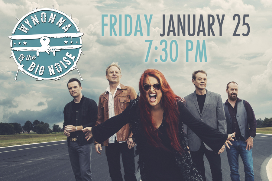 COUNTRY MUSIC STAR WYNONNA JUDD WILL PLAY THE RIALTO SQUARE