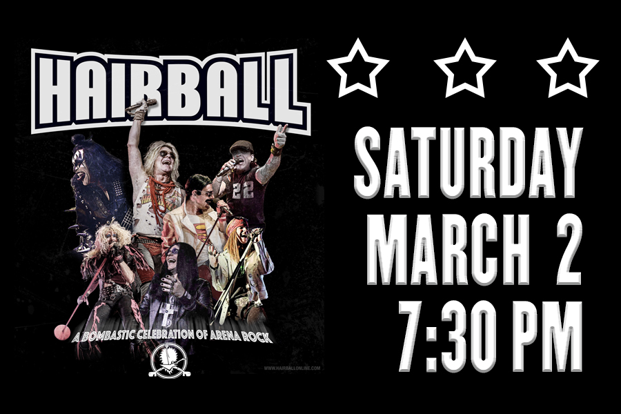 HAIRBALL RETURNS TO THE RIALTO SQUARE THEATRE THIS MARCH