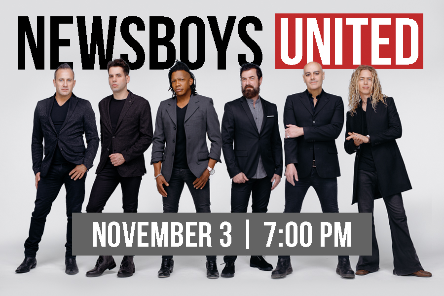 newsboys united live on november 3rd