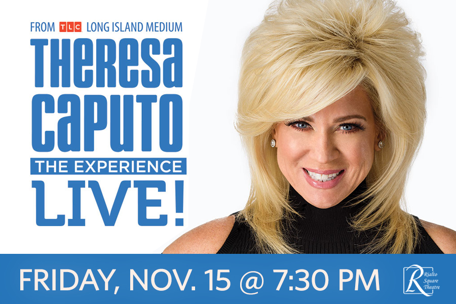 STAR OF HIT TV SHOW, LONG ISLAND MEDIUM, IS HEADED TO THE RIALTO STAGE