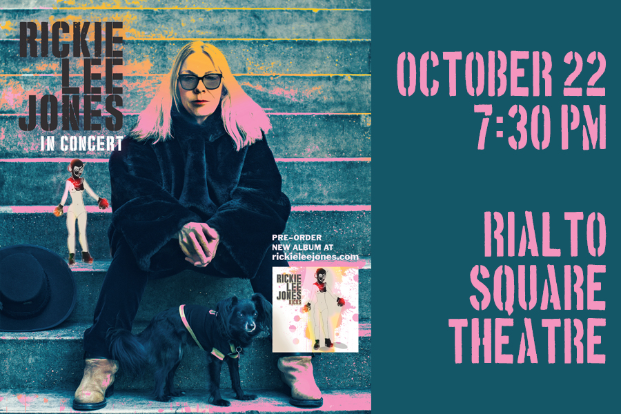 Two-time Grammy winner will play the Rialto Square on October 22nd