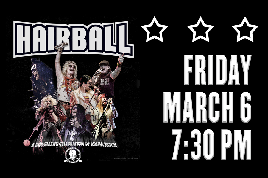 HAIRBALL RETURNS TO ROCK JOLIET THIS MARCH