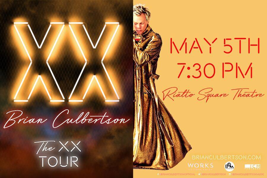 VenuWorks Presents Brian Culbertson The XX Tour at The Rialto Square Theatre