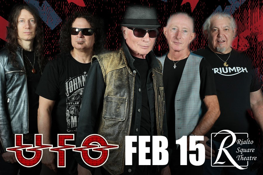 UFO To Play Rialto Square Theatre on February 15, Part of Phil Mogg's Final Touring Appearances