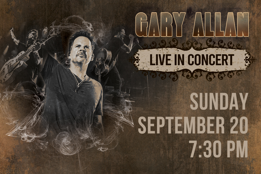 New Date Announced for Gary Allan