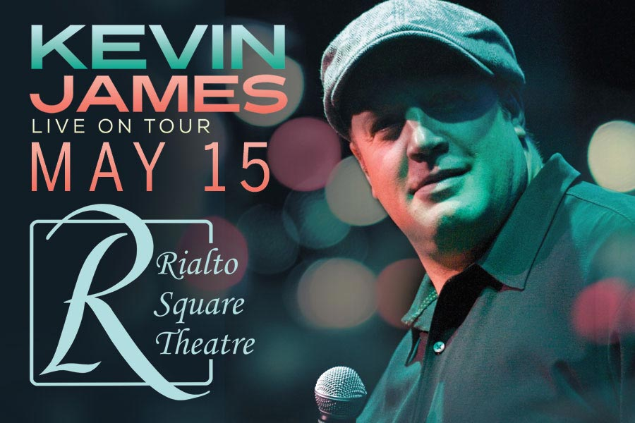 Comedian Kevin James Coming to Rialto Stage