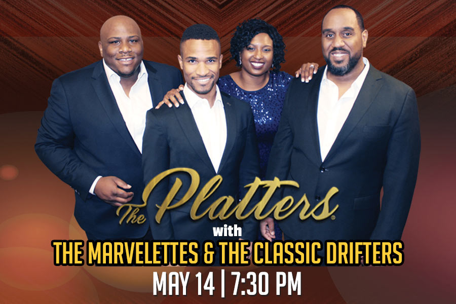 The Platters® with The Marvelettes & The Classic Drifters Postponed