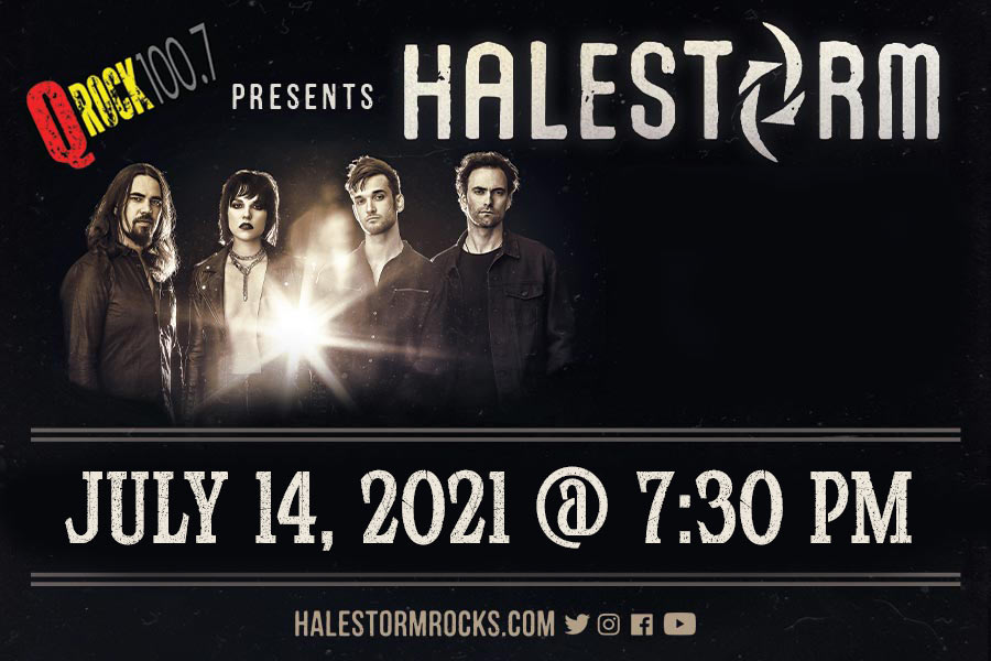 Halestorm Rescheduled to July 14, 2021