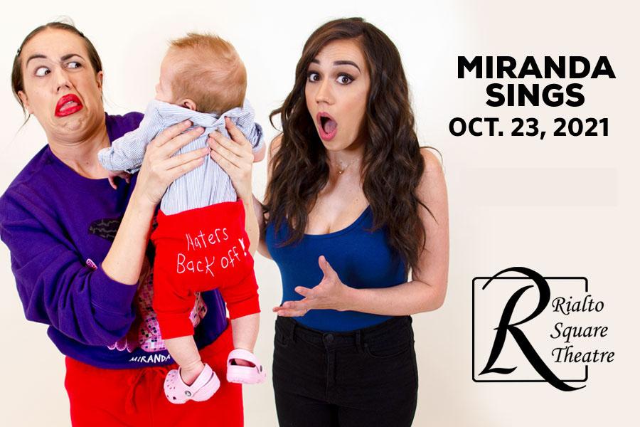 Miranda Sings Rescheduled for October 23, 2021