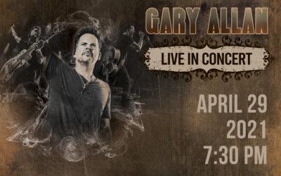 Gary Allan Rescheduled