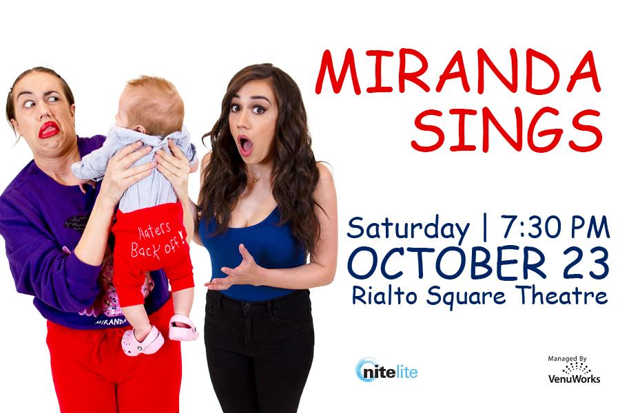 Miranda Sings Sat. October 23 2021