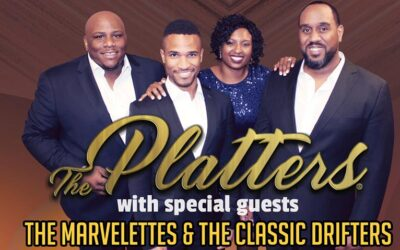 Cancelled: The Platters® with TheMarvelettesand The Classic Drifters