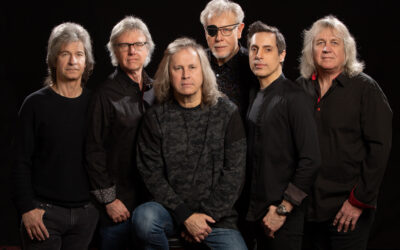 Rock Band Kansas – Point of Know Return Anniversary Tour stopping at the Rialto Square Theatre