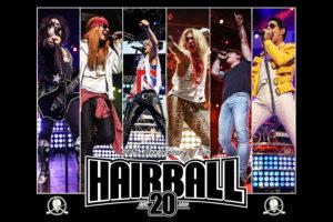 HAIRBALL at the Rialto Square Theatre