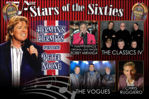 Stars of the Sixties return to the Rialto Square Theatre