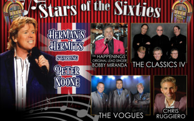 Stars of the Sixties at the Rialto Square Theatre!