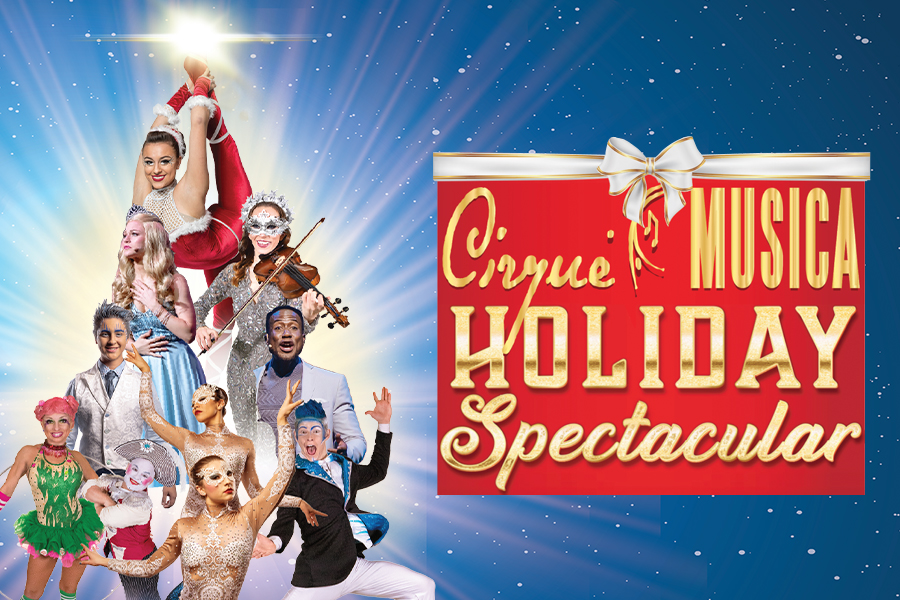 Cirque Musica Holiday Spectacular brings the joy and excitement of the holiday season to your theater like never before.