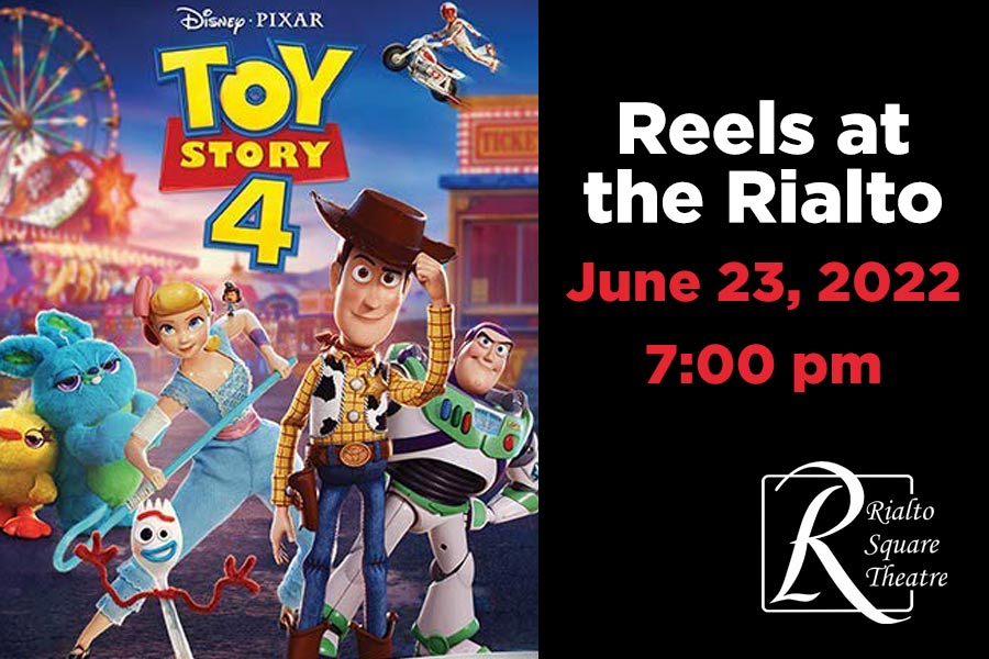 Toy Story 4 - June 23, 2022 at The Rialto Square Theatre