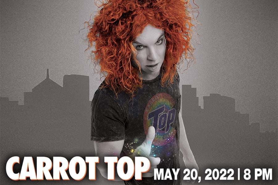 VenuWorks Presents Carrot Top at the Rialto Square Theatre