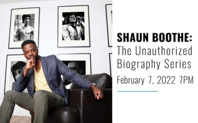 SHAUN BOOTHE:  THE UNAUTHORIZED BIOGRAPHY